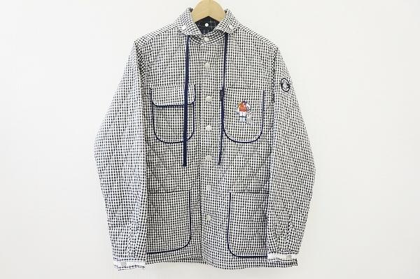 シナコバ キルティングチェックジャケット