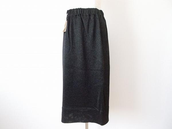 サイトウトヨコ ラメ糸ニットスカート