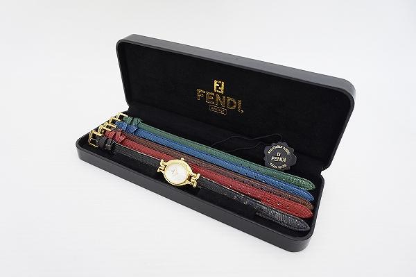 フェンディ チェンジベルト5色クオーツ腕時計