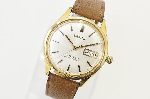 セイコー マチックRデイデイト手巻き腕時計