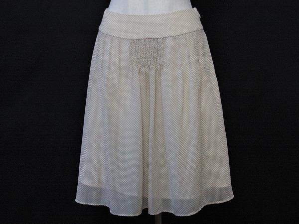 エフデ ドット柄スカート