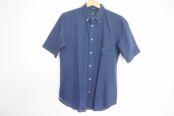 ヘンリーコットンズ ボタンダウン半袖シャツ