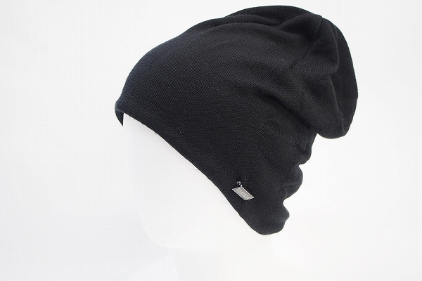 マニエラ シルク混ニット帽