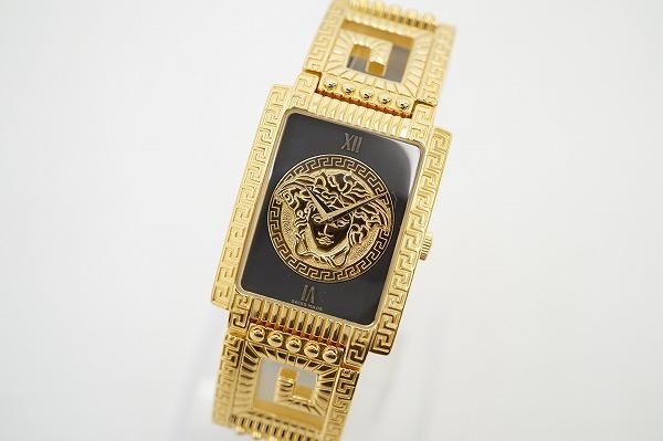 ジャンニヴェルサーチ 7008015クオーツ腕時計