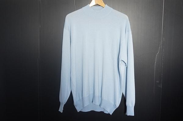 グランサッソ シルク混カシミア混セーター